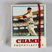 Extremely Rare! 1950 Champ Prophylactics Ted Williams Box