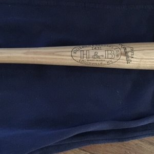Al Kaline Vintage 1960's H&B Hillerich & Bradsby Model Baseball Bat Unused 28""