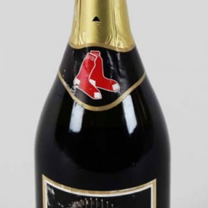 2004 World Series Red Sox Champagne Bottle (Un-Opened) - COA Steiner