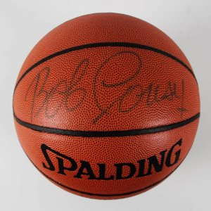 Boston Celtics - HOFer- Bob Cousy Signed Basketball - JSA