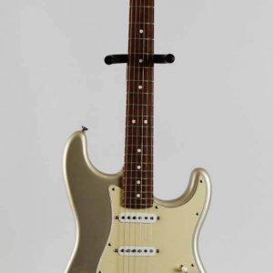 American Fender Stratocaster Handpainted Inca Silver (1 of 4) William C. Schultz Memorial