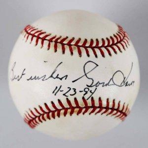 Gordie Howe Detroit Red Wings HOFer Signed & Inscribed OAL Baseball - JSA