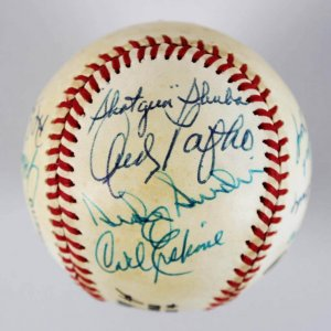 Brooklyn Dodgers Reunion Multi-Signed ONL Baseball - Don Newcombe, Duke Snider, etc. JSA
