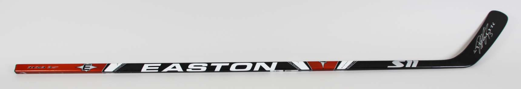 Dany Heatley Signed Hockey Stick Sharks - COA JSA