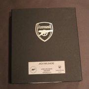 A Jack Wilshere Game-Used Arsenal FC Rain Jacket (2015/16 Season).  Arsenal Club COA & Presentation Box.