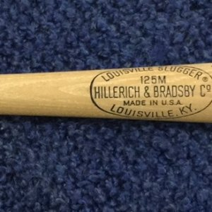 "Carl Yastrzemski Louisville Slugger 125M Model Baseball Bat Unused 31"" inch NR-MT/MINT!"