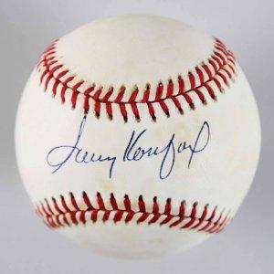Sandy Koufax Signed Brooklyn Dodgers ONL Baseball - JSA Full LOA
