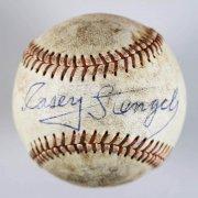 Casey Stengel Single Signed Baseball