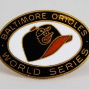 Baltimore Orioles 1969 World Series Balfour Press Pin