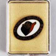 Baltimore Orioles 1969 World Series Balfour Press Pin