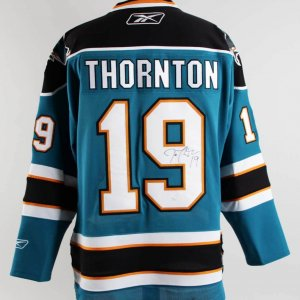 Joe Thornton Signed San Jose Sharks Jersey - COA JSA