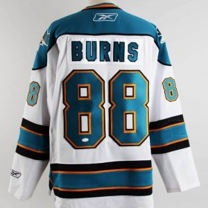 Brent Burns Signed San Jose Sharks Jersey - COA JSA