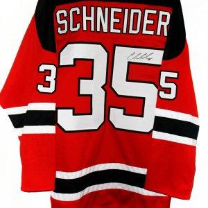 New Jersey Devils Cory Schneider signed Jersey