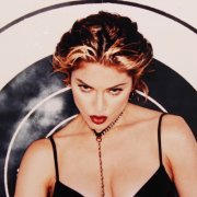 Madonna Signed Posing in Black Leather 11x14 Photo - JSA Full LOA