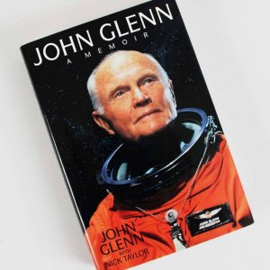 John Glenn Signed & Inscribed 11-13-99 Book A Memoir - COA