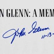 John Glenn Signed & Inscribed 11-13-99 Book A Memoir - COA