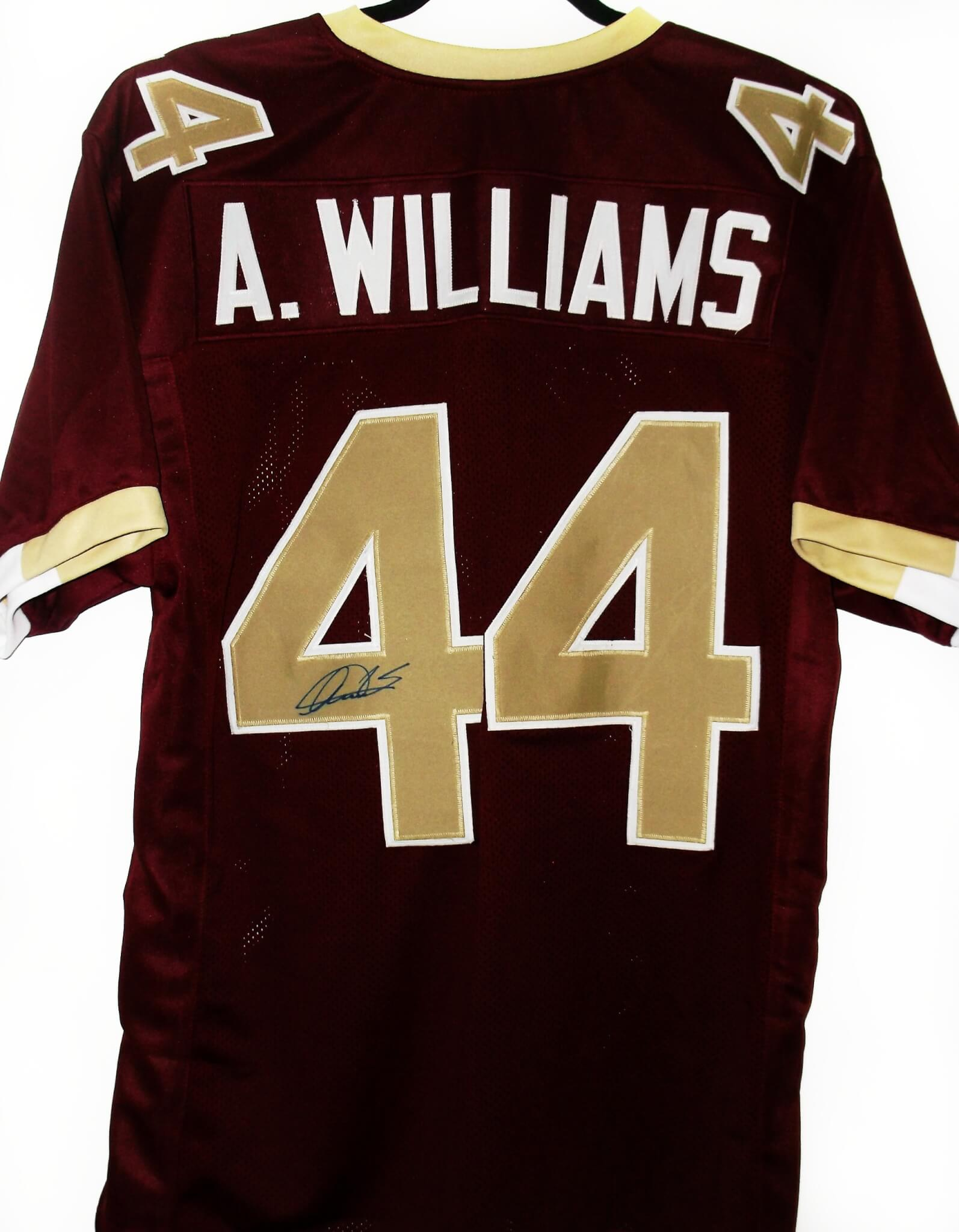 Boston College Eagle Andre Williams signed Jersey