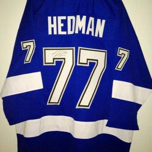 Tampa Bay Lightning Victor Hedman signed Jersey