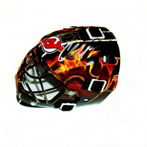 New Jersey Devils Cory Schneider signed mini mask