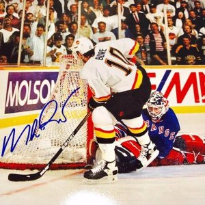 New York Rangers Mike Richter signed 11x14 photo