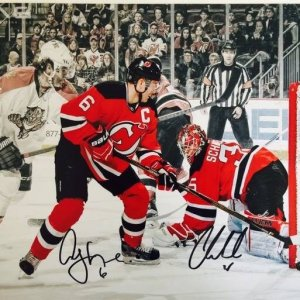 NJ Devils Cory Schneider and Andy Greene signed 11x14 photo