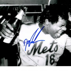 New York Mets Doc Gooden signed 8x10 photo