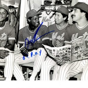New York Mets Doc Gooden signed inscribed 8x10 photo