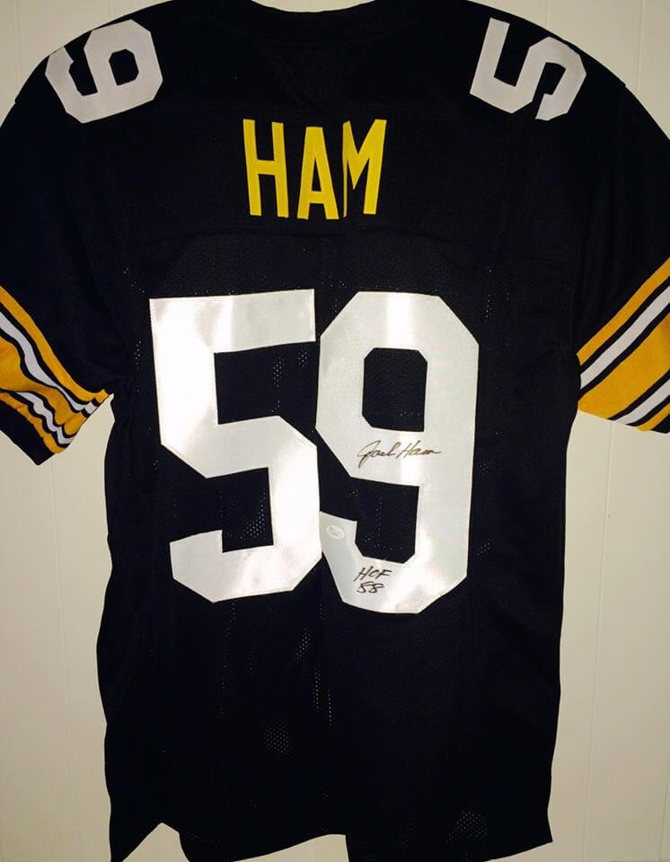 Pittsburgh Steelers Jack Ham signed Jersey