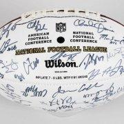 2008 AFC Team Signed Football - Manning, Roethlisberger, etc. - JSA