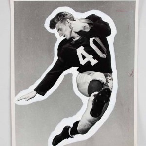 "Circa 1940's Elroy ""Crazylegs"" Hirsch Type I 8x10 Photo -L.A. Rams H.O.Fer- PSA/DNA"