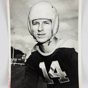 Circa 1940's Don Hutson Type I 6.5 x 8.5 Packers Photo - PSA/DNA