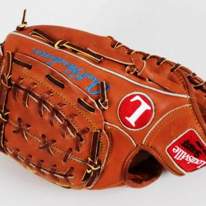 1988 Los Angeles Orel Hershiser Signed Game Model Stats Glove