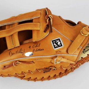 Don Mattingly Signed & Inscribed Personal Model Glove
