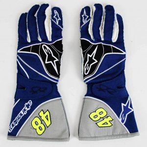 Jimmie Johnson Race-Worn, Signed NASCAR Driver Gloves (Proceeds Donated to Charity) COA Provenance