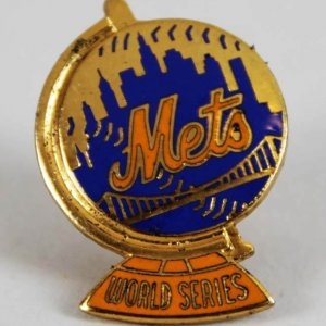 1973 New York Mets World Series Press Pin