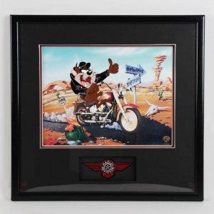 """Tasmanian Devil """"Fat Boy"""" LE 82/500 22.5 x 23.5 Animation Display"""