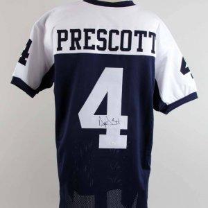 Dak Prescott Signed Dallas Cowboys Jersey - COA JSA