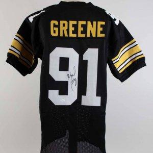 Kevin Greene Signed Steelers Jersey - COA JSA