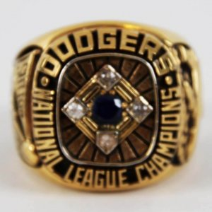 1977 Don Sutton Los Angeles Dodgers Ring -National League Championship Salesman Sample