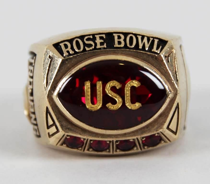 USC Trojans Rose Bowl Ring