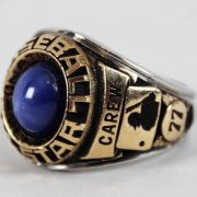 1977 Rod Carew Minnesota Twins MLB All-Star Ring - Salesman Sample