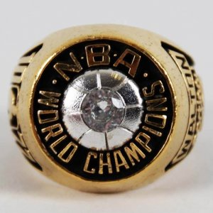 1977 Bill Walton Portland Trail Blazers NBA Championship Ring Salesman Sample