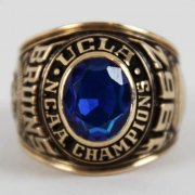 1967 UCLA NCAA Championship Ring 10K Gold Balfour Salesman Sample