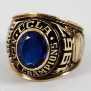 1967 UCLA NCAA Championship Ring 10K Gold Balfour Salesman Sample