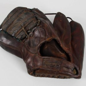 Circa 1950's Stan Musial Model Cardinals Rawlings Baseball Glove Playmaker