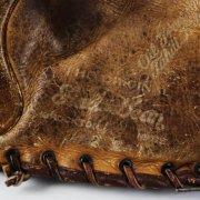 1930's Vintage Fielder's Baseball Glove - Stall & Dean - Brockton, MA