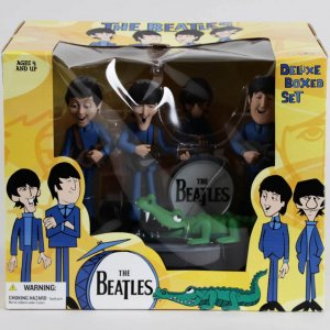 2004 The Beatles McFarlane Cartoon Figures Boxed Set Collectors Memorabilia