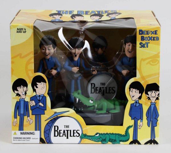 2004 The Beatles McFarlane Cartoon Figures Boxed Set Collectors Memorabilia