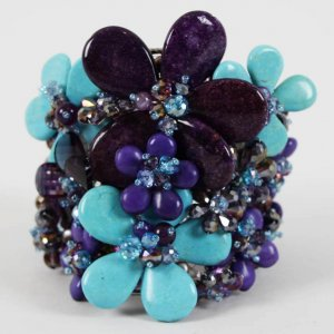 Phyllis Diller Worn Costume Jewelry Bracelet from Cancer Charity Party (Provenance LOA Book)