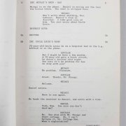 The Karate Kid III - Ralph Macchio & Pat Morita Signed & Inscribed Tenugui Bandana Worn in Movie - JSA Full LOA